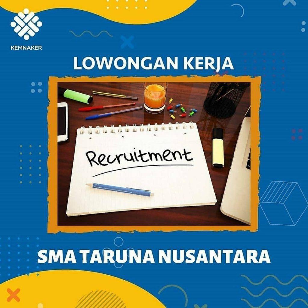 Lowongan Kerja Guru SMA Taruna Nusantara - INFO LOKER SOLO