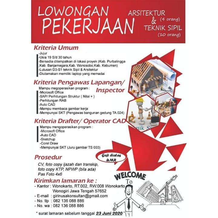 Lowongan Kerja Giri Nusa Konsultan Di Solo Info Loker Solo