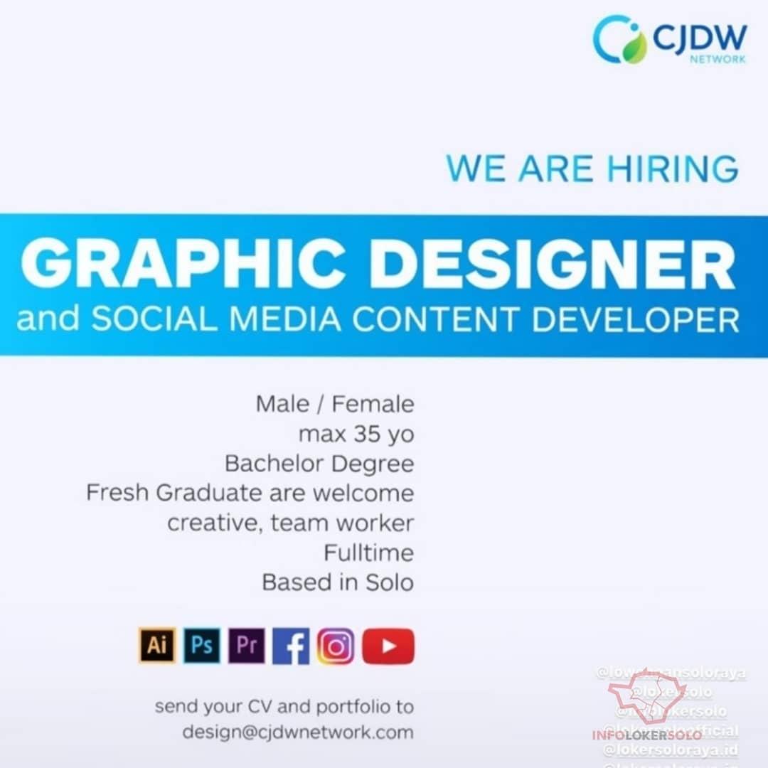Lowongan Kerja Desain Grafis Cjdw Network Info Loker Solo