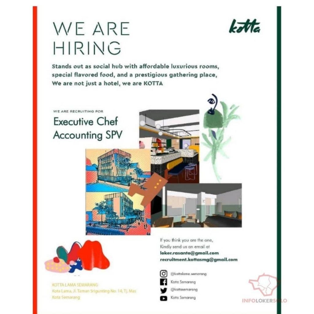 Lowongan Kerja Hotel Kotta Lama Semarang Info Loker Solo