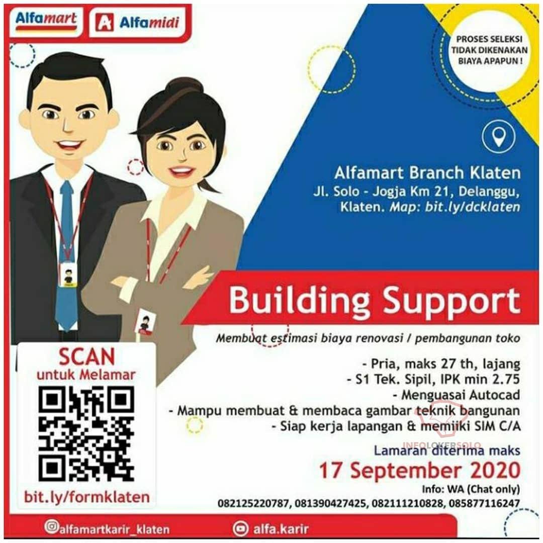 Lowongan Kerja Alfamart Branch Klaten Terbaru Info Loker Solo