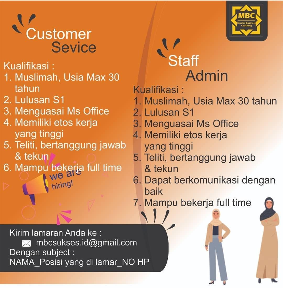 Lowongan Kerja Customer Service Mbc Sukses Info Loker Solo