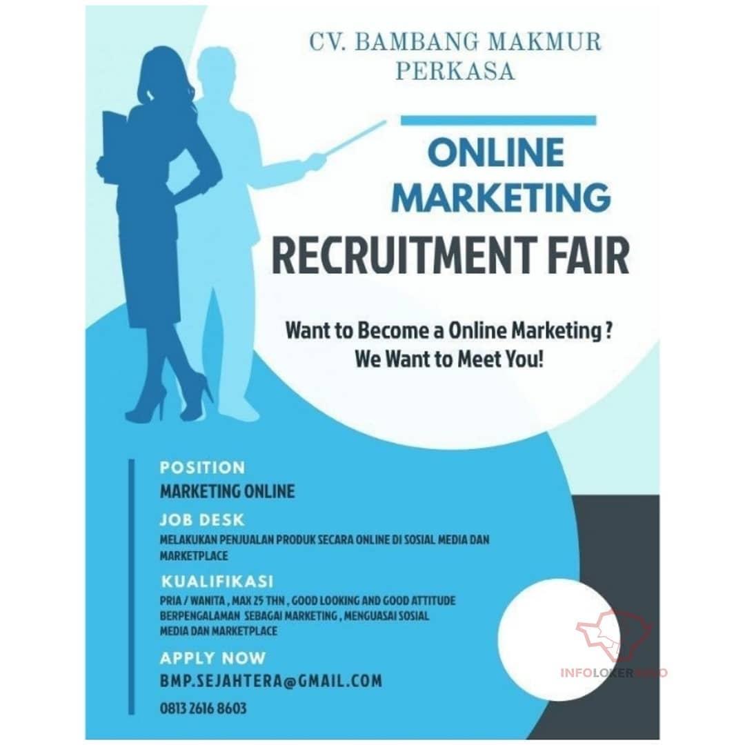 Lowongan Kerja Online Marketing CV Bambang Makmur Perkasa ...
