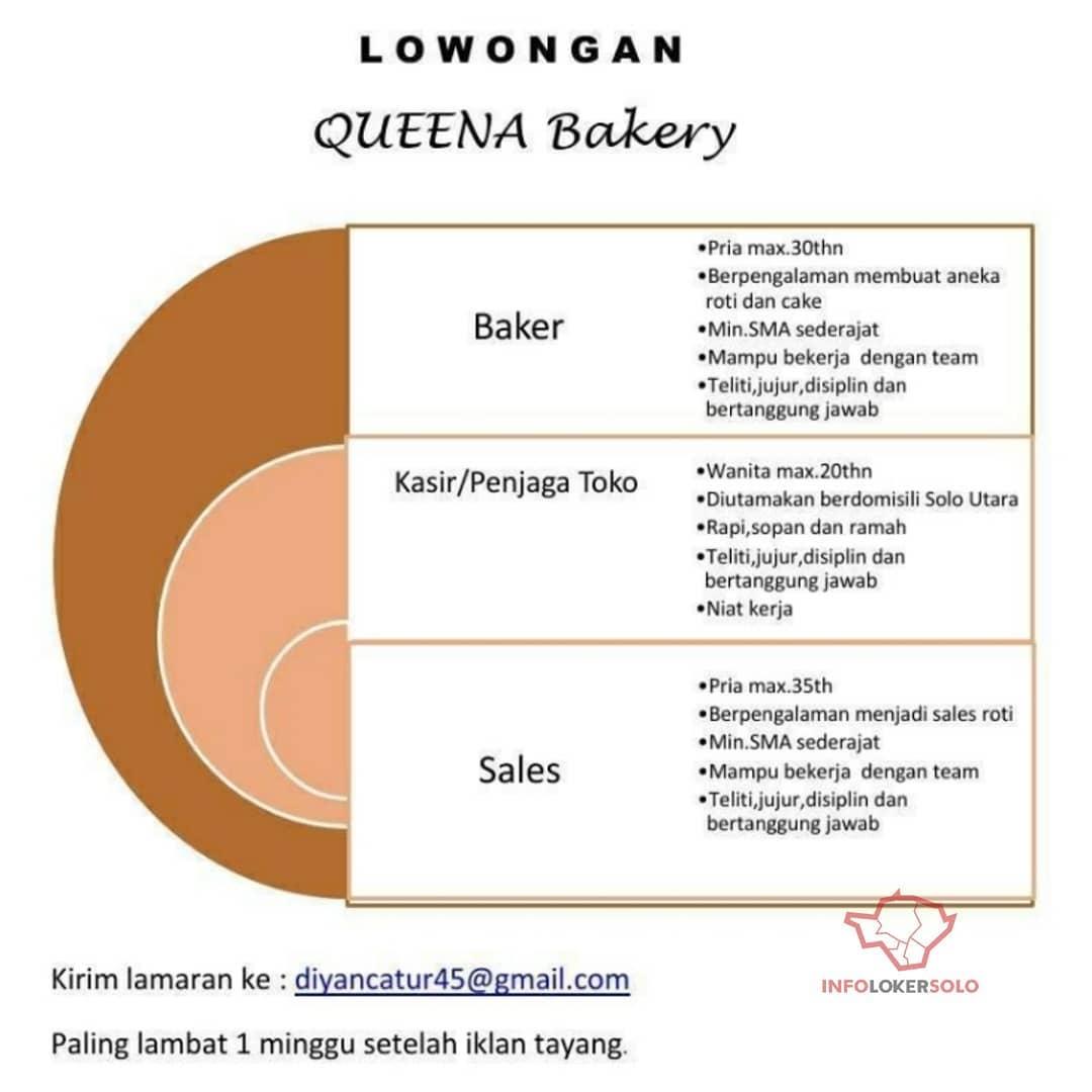 Lowongan Kerja Queena Bakery Di Solo Info Loker Solo